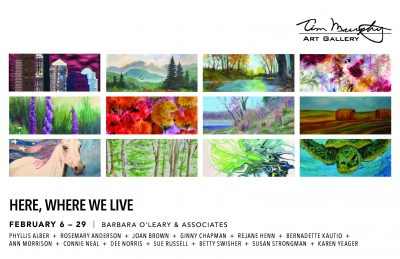 Here Where We Live presented by Tim Murphy Art Gallery at Tim Murphy Art Gallery, Shawnee KS