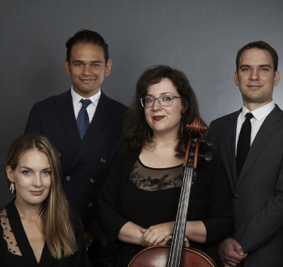 The Opus 76 Champagne Series 2 presented by The Opus 76 String Quartet at ,