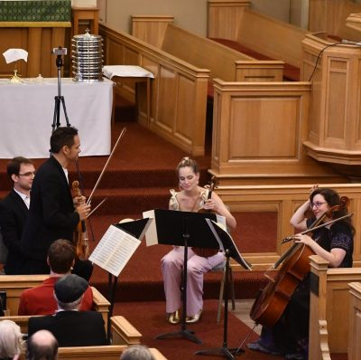 The Opus 76 Quartet: Classical Series 4 presented by The Opus 76 String Quartet at ,