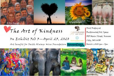 The Art of Kindness First Friday presented by Buttonwood Art Space at Buttonwood Art Space, Kansas City MO
