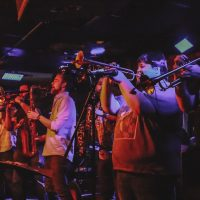 Back Alley Brass Band at Buffalo State Pizza Co.- Crossroads presented by Back Alley Brass Band at ,
