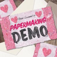 Papermaking Demo presented by Artist & Craftsman Supply, KC at Artist & Craftsman Supply, KC, Kansas City MO