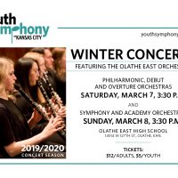Youth Symphony of Kansas City Winter Concerts featuring the Olathe East Orchestra presented by Youth Symphony of Kansas City at ,