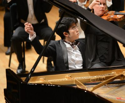 Aristo Sham, pianist in recital presented by Harriman-Jewell Series at The Folly Theater, Kansas City MO