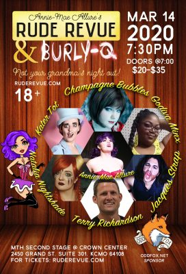 Rude Revue and Burly Q – March 2020 presented by Rude Revue and Burly Q at MTH Theater at Crown Center, Kansas City MO
