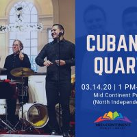 CANCELED – Crown Crafted Music Series with Cubanisms Quartet (Free Show) presented by One Kansas City Radio at ,