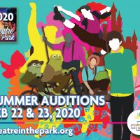 Theatre in the Park – OUTDOOR Summer Auditions presented by Theatre in the Park at Theatre in the Park OUTDOOR, Shawnee KS