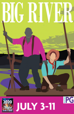 CANCELED – Big River presented by Theatre in the Park at Theatre in the Park OUTDOOR, Shawnee KS