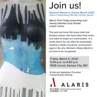 Alaris Celebrating Women Artists Series presented by Lynette Ubel at ,