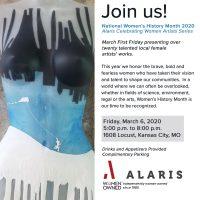 Alaris Celebrating Women Artists Series presented by Anastacia Drake at ,