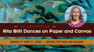 CANCELLED – Rita Blitt Dances on Paper and Canvas presented by Lenexa Parks & Recreation at City of Lenexa Hall Art Gallery, Leawood KS