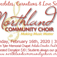 Northland Community Choir Concert presented by Northland Community Choir at ,