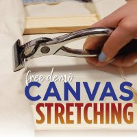 Free Canvas Stretching Demo presented by Artist & Craftsman Supply, KC at Artist & Craftsman Supply, KC, Kansas City MO