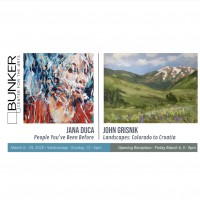 Opening Reception: Jana Duca | John Grisnik presented by Bunker Center for the Arts at Bunker Center for the Arts, Kansas City MO