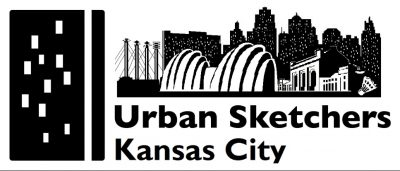 Urban Sketchers KC Goes Virtual! presented by UrbanSketchersKC at Crown Center, Kansas City MO