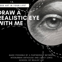 Drawing a Realistic Eye with Lacey Lewis presented by InterUrban ArtHouse at InterUrban ArtHouse, Overland Park KS
