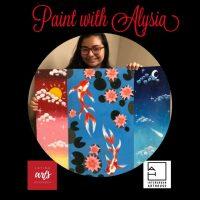 Aspiring Artist Virtual Class: Painting with Alysia presented by InterUrban ArtHouse at InterUrban ArtHouse, Overland Park KS