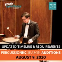 Youth Symphony of Kansas City PERCUSSIONKC Auditions