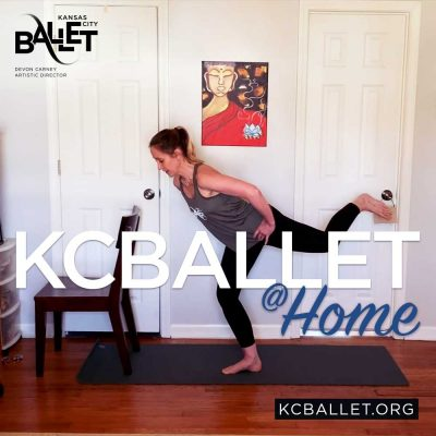 VIRTUAL – The Official KC Ballet Workout presented by Kansas City Ballet at Todd Bolender Center for Dance & Creativity, Kansas City MO