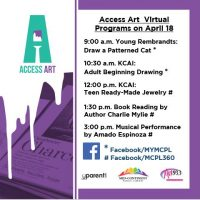 VIRTUAL Access Art presented by Mid-Continent Public Library at Online/Virtual Space, 0 0