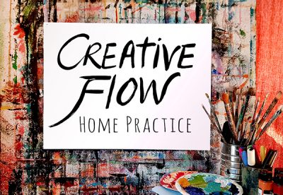 VIRTUAL – Creative Flow Home Practice presented by Jenny Hahn Studio at Online/Virtual Space, 0 0
