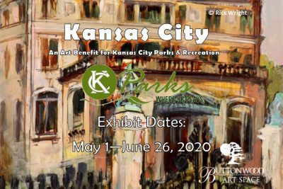 "VIRTUAL – ""Kansas City"" Exhibit Virtual Exhibition presented by Buttonwood Art Space at Online/Virtual Space, 0 0"
