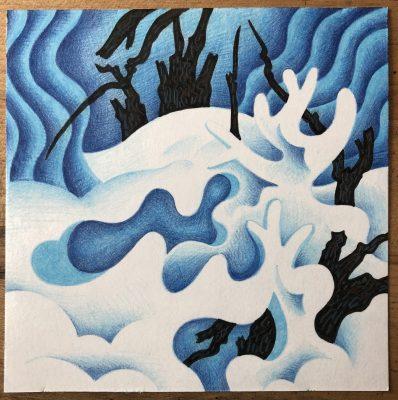 VIRTUAL – Snowscapes by Jason Needham presented by Kansas City Artists Coalition at Kansas City Artists Coalition, Kansas City MO