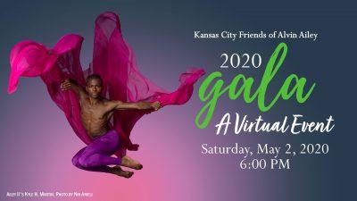 VIRTUAL – KCFAA VIRTUAL GALA presented by Kansas City Friends of Alvin Ailey at Online/Virtual Space, 0 0