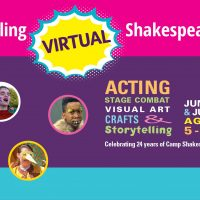 VIRTUAL – CAMP SHAKESPEARE VIRTUAL SHAKESPEARE SUMMER CAMP presented by Heart of America Shakespeare Festival at Online/Virtual Space, 0 0