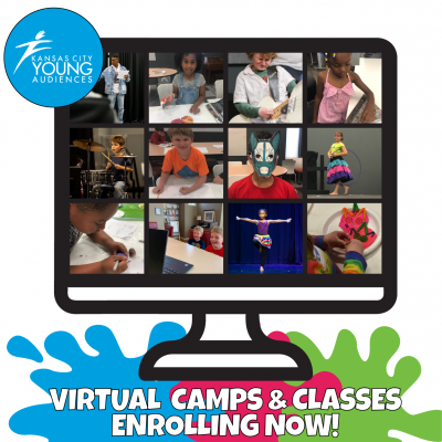VIRTUAL – Kansas City Young Audiences MUSIC CAMP FOR AGES 7-9 presented by Kansas City Young Audiences at Online/Virtual Space, 0 0
