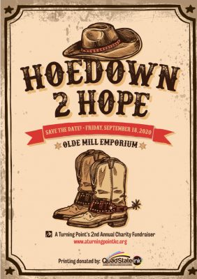 VIRTUAL – Hoedown 2 Hope presented by Home at Online/Virtual Space, 0 0