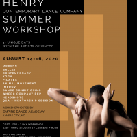 Wylliams Henry Summer Workshop presented by Wylliams/Henry Contemporary Dance Company at ,