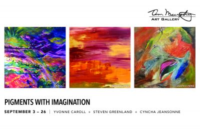 Pigments with Imagination presented by Home at Tim Murphy Art Gallery, Shawnee KS