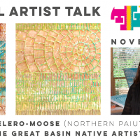 "VIRTUAL artist talk: ""The Great Basin Native Artists"" by Melissa Melero-Moose presented by Travois at Travois, Kansas City MO"