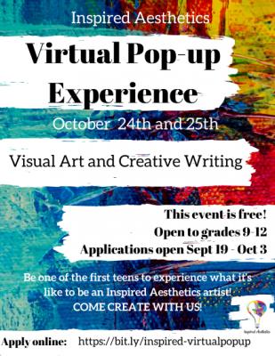 VIRTUAL- Inspired Aesthetics Virtual Pop-up Experience presented by VIRTUAL- Inspired Aesthetics Virtual Pop-up Experience at Online/Virtual Space, 0 0