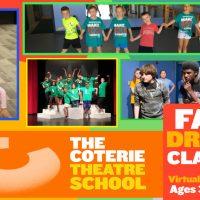 The Coterie Theatre School's Fall Drama Classes presented by The Coterie Theatre at The Coterie Theatre, Kansas City MO