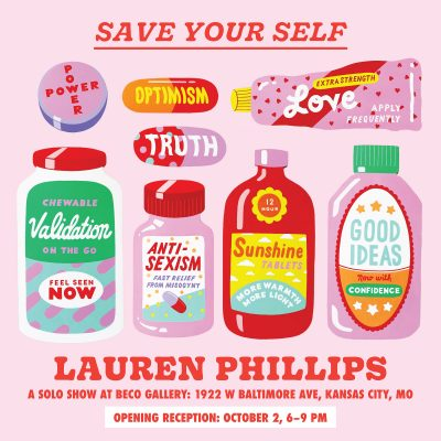 Lauren Philips Solo Exhibit Save Your Self presented by Lauren Philips Solo Exhibit Save Your Self at ,