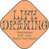 Life Drawing with nude model in studio with artists presented by Merging Rivers Artist Guild at ,