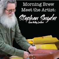 VIRTUAL- Morning Brew: Meet the Artist with Leatherworker Stephen Snyder presented by InterUrban ArtHouse at InterUrban ArtHouse, Overland Park KS