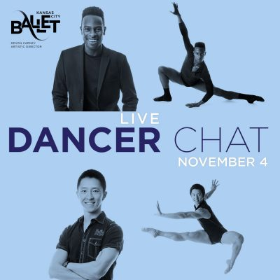 """VIRTUAL- Kansas City Ballet presents """"LIVE Dancer Chat with Paul Horsley"""" presented by Kansas City Ballet at Online/Virtual Space, 0 0"""