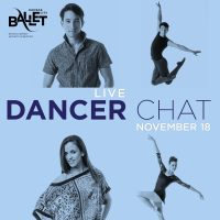 "VIRTUAL- Kansas City Ballet presents ""LIVE Dancer Chat with Rashida Phillips"" presented by Kansas City Ballet at Online/Virtual Space, 0 0"