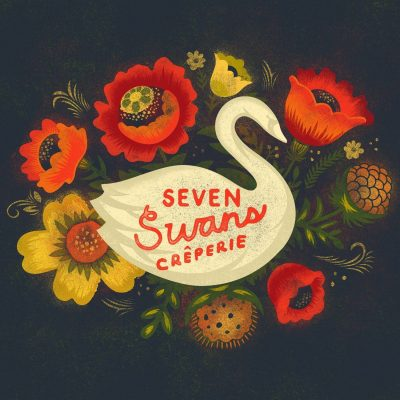 Seven Swans Crêperie & Venue located in Kansas City MO