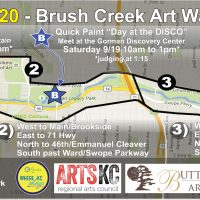 Brush Creek Art Walk 2020 (BCAW2020) Online Sales Event presented by Brush Creek Artwalk Foundation at Buttonwood Art Space, Kansas City MO