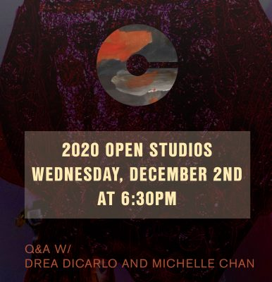 VIRTUAL- 2020 Open Studios Series: Drea DiCarlo and Michelle Chan presented by Charlotte Street Foundation at Online/Virtual Space, 0 0