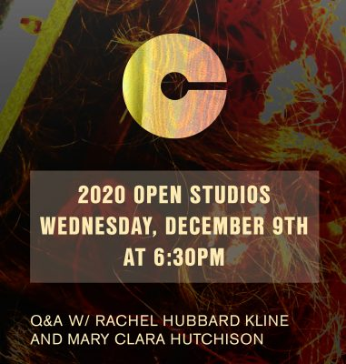 VIRTUAL- 2020 Open Studios Series: Rachel Hubbard Kline and Mary Clara Hutchison presented by Charlotte Street Foundation at Online/Virtual Space, 0 0
