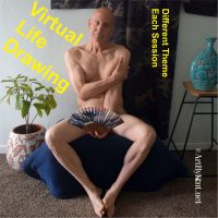 VIRTUAL-Life Drawing with Kent presented by Merging Rivers Artist Guild at Online/Virtual Space, 0 0