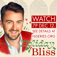 VIRTUAL- HOLIDAY BLISS: Tenor Ben Bliss and special guests in a livestream concert presented by Harriman-Jewell Series at Online/Virtual Space, 0 0