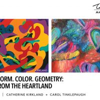 Movement. Form. Color. Geometry: Abstracts from the Heartland presented by Tim Murphy Art Gallery at Tim Murphy Art Gallery, Merriam KS