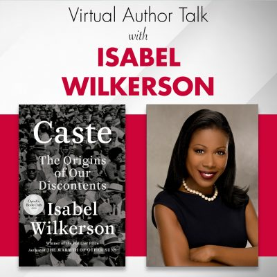 VIRTUAL- Author Talk with Isabel Wilkerson presented by Kansas City, Kansas Public Library at Online/Virtual Space, 0 0