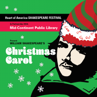 VIRTUAL- William Shakespeare's Christmas Carol presented by Heart of America Shakespeare Festival at Online/Virtual Space, 0 0
